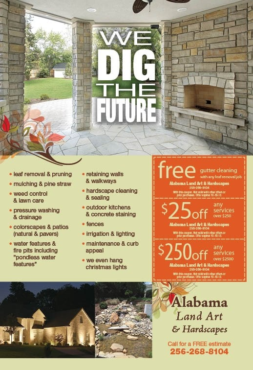 Alabama Land Art and Hardscapes