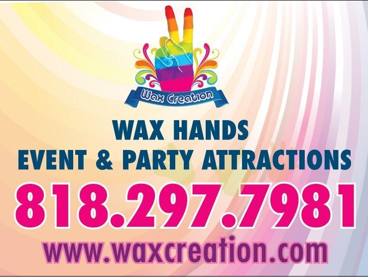 Wax Creation Wax Hands