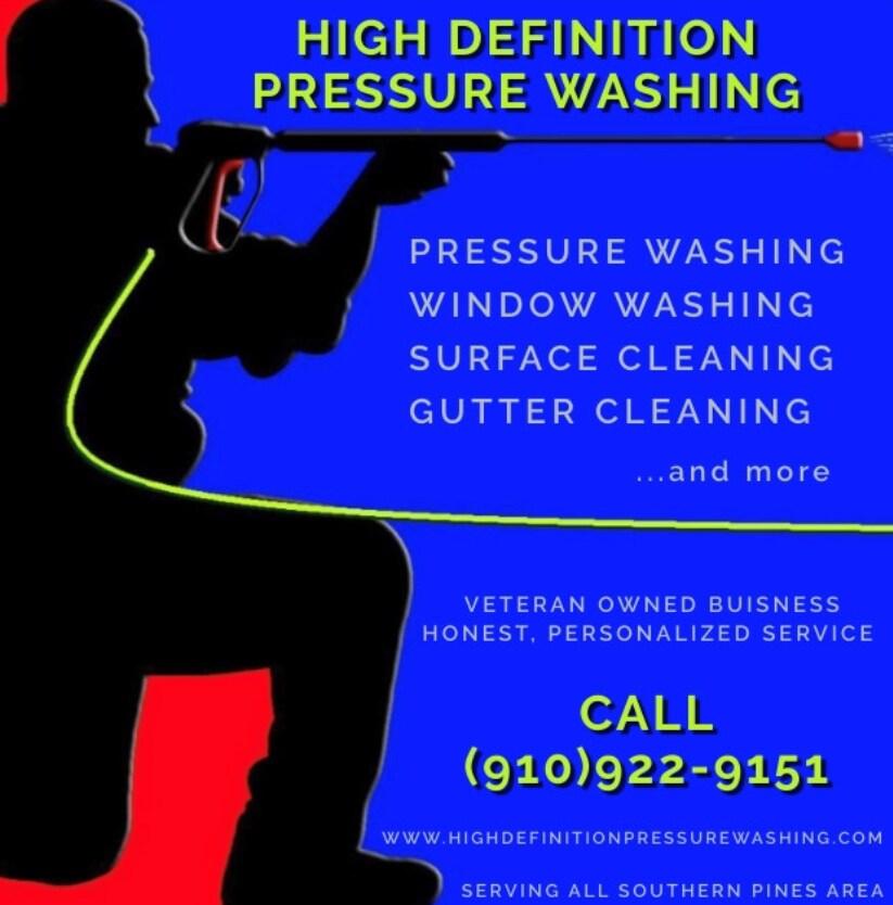 High Definition Pressure Washing