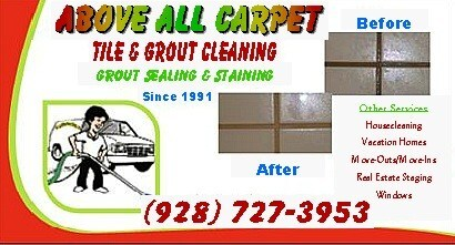ABOVE ALL CARPET, TILE, GROUT and HOUSE CLEANING