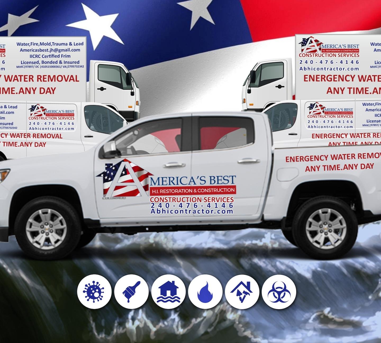 America's Best 911 Emergency Water & Fire mitigation Restoration