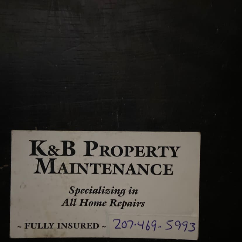 K&B PROPERTY MAINTENANCE