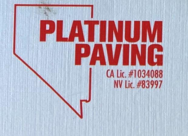 Platinum Paving logo
