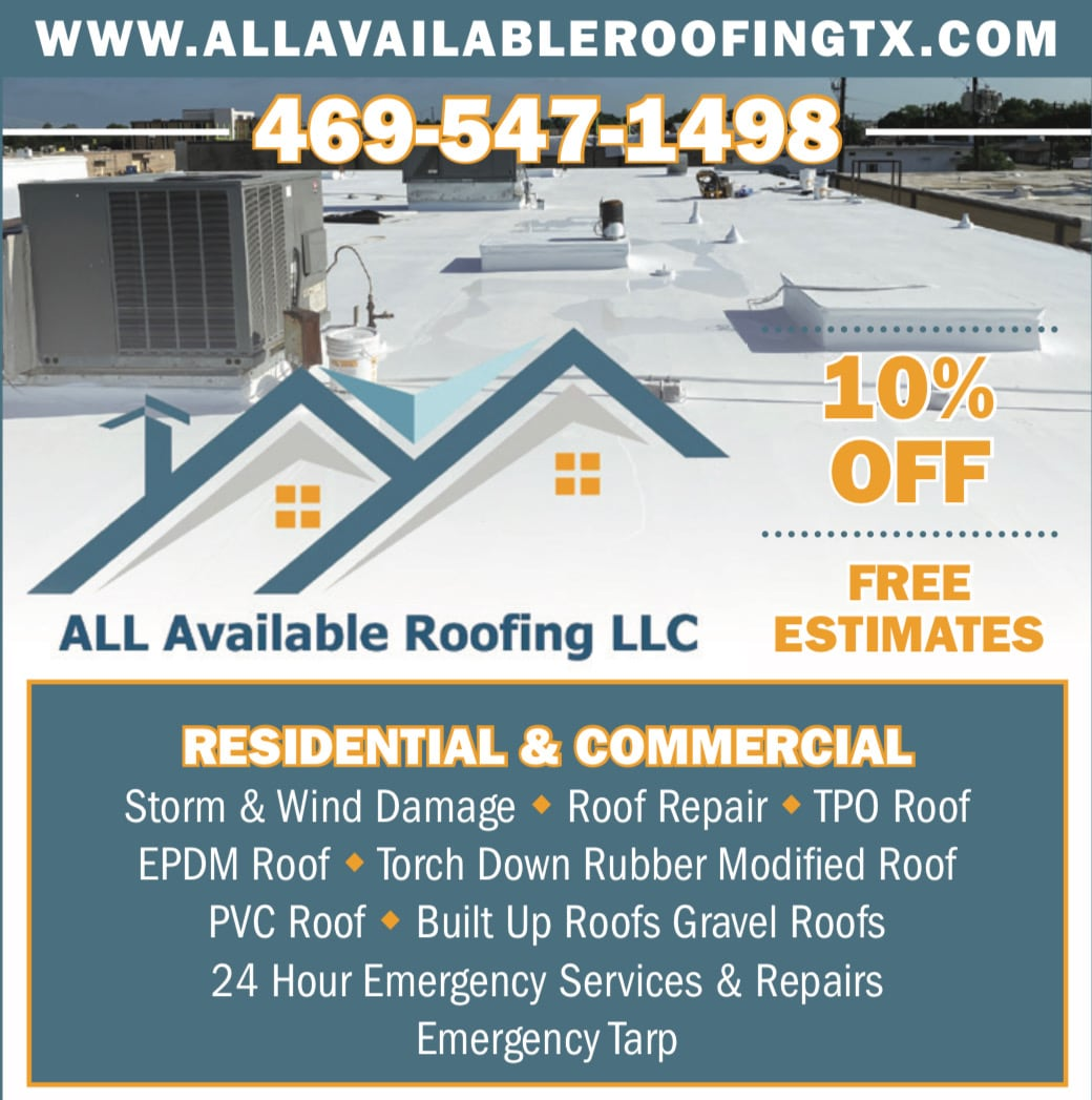 All Available Roofing, LLC