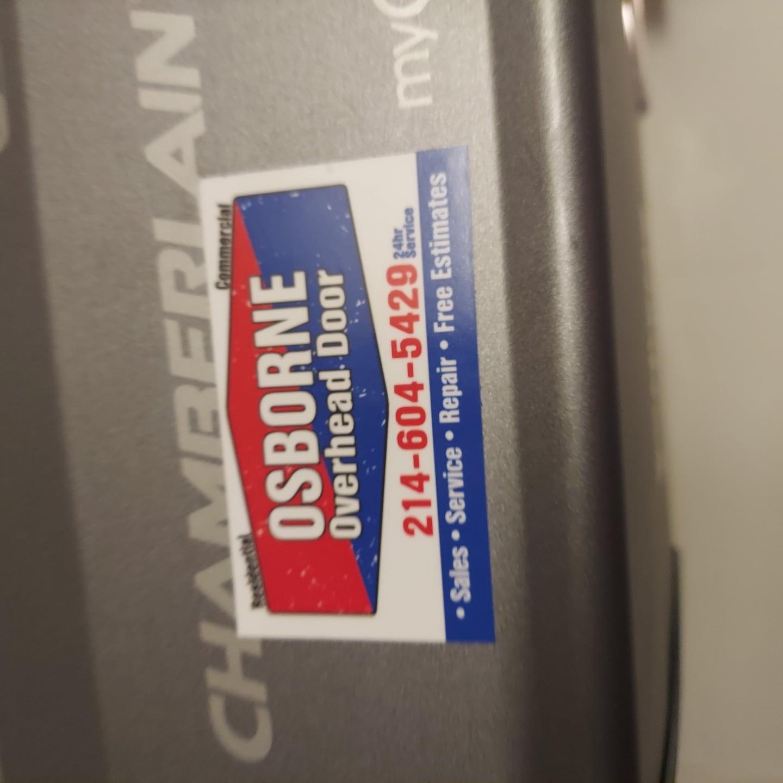 Osborne Overhead Door logo