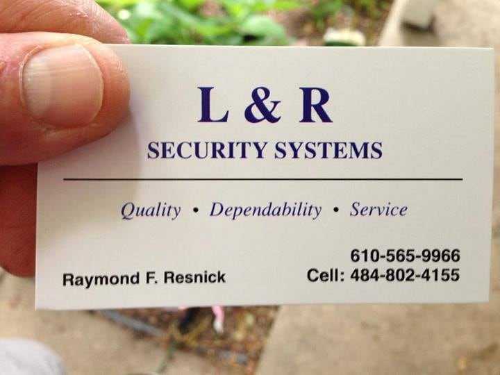 L & R SECURITY SYSTEMS