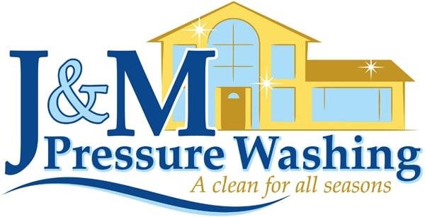 J & M PRESSURE WASHING logo