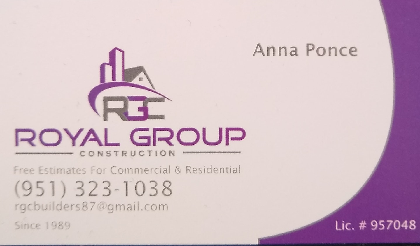 Royal Group Construction