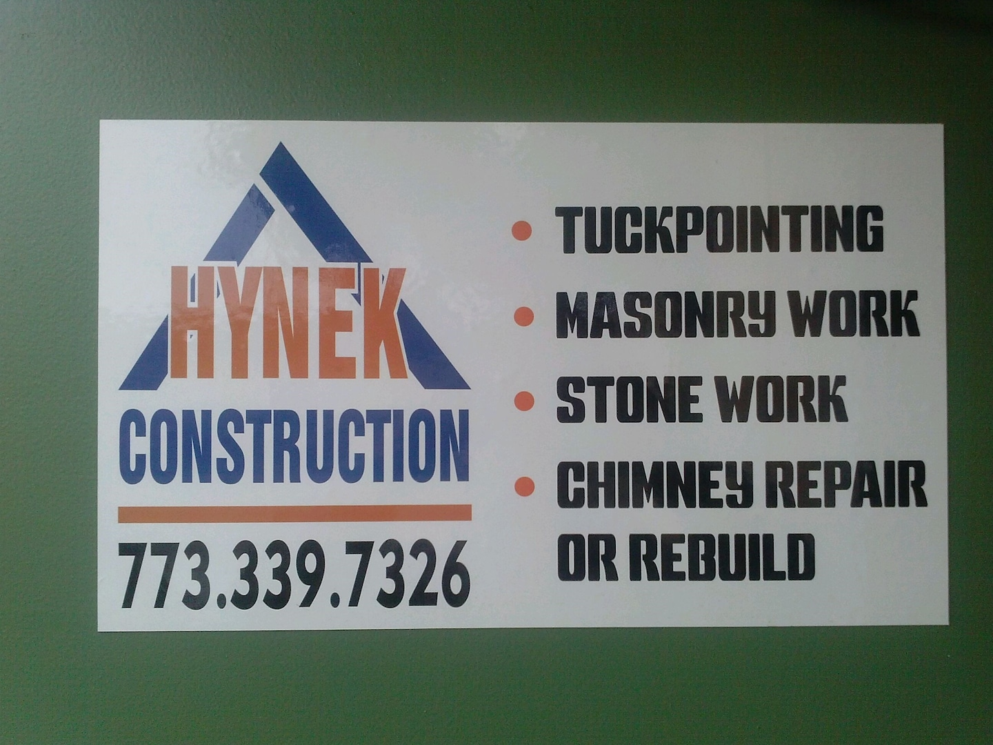 Hynek Construction