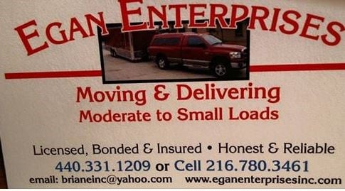 Egan Entrp Specialized Hauling, Moving, & Delivery