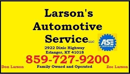 LARSON AUTOMOTIVE SVC