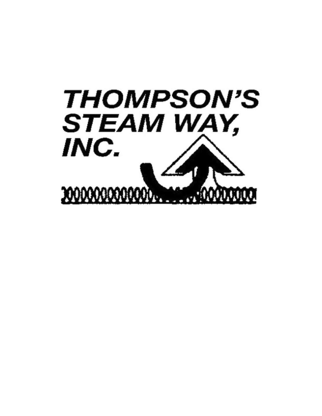 THOMPSON'S STEAM WAY, INC.