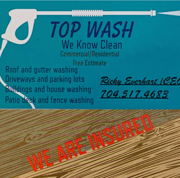 Top Wash logo
