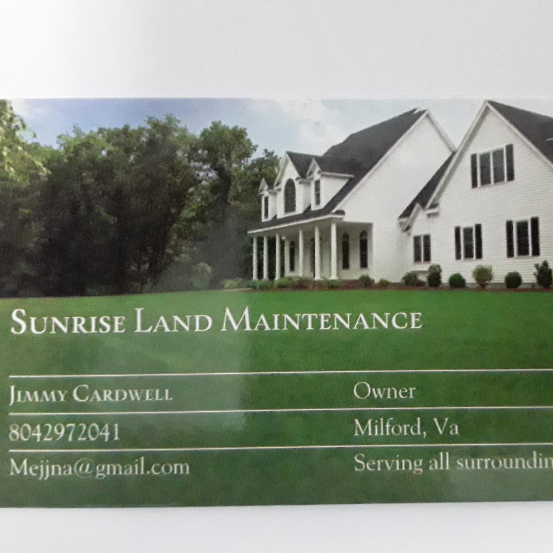 sunrise land maintenance