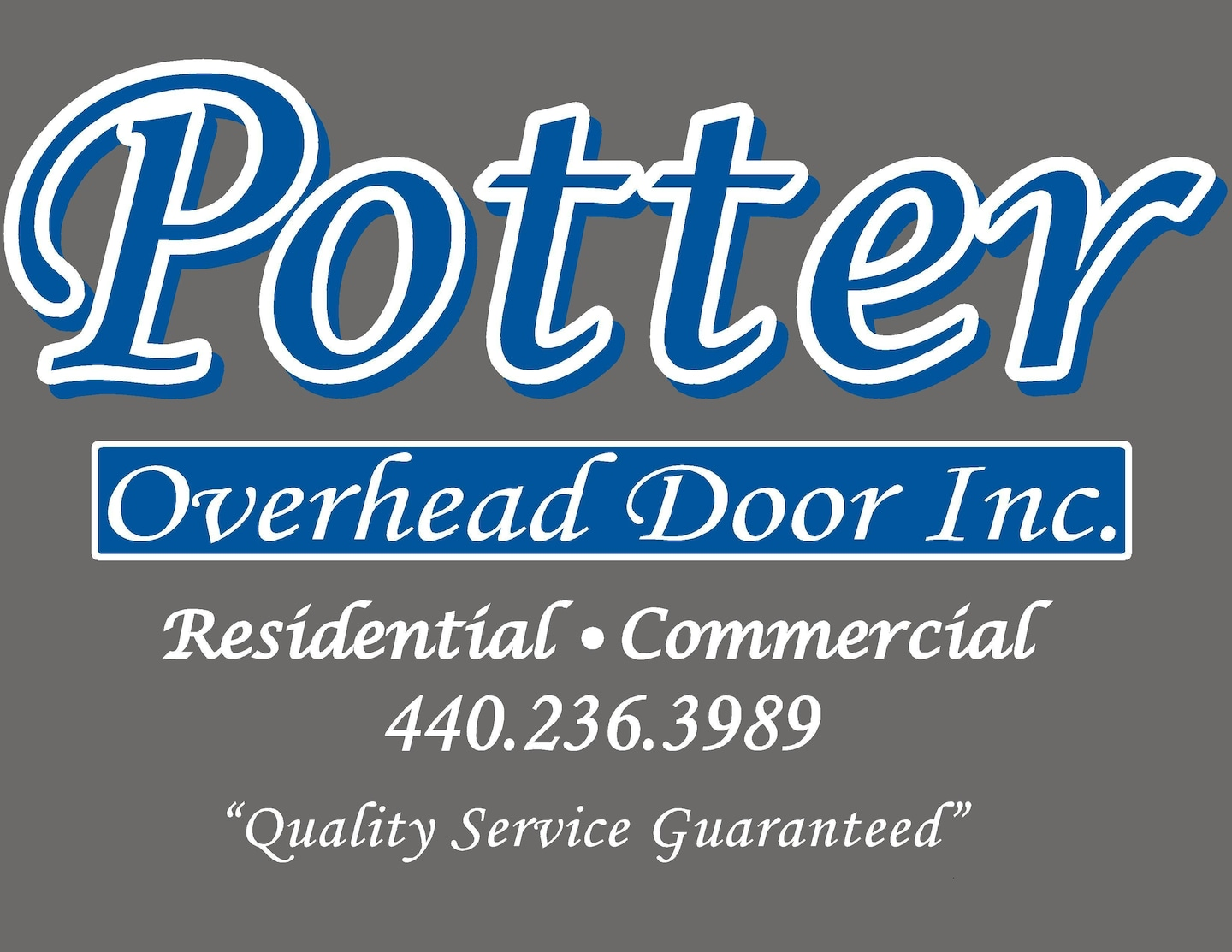 Potter Overhead Door, Inc.
