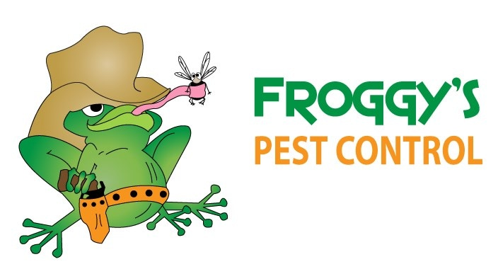 Froggy's Pest Control logo