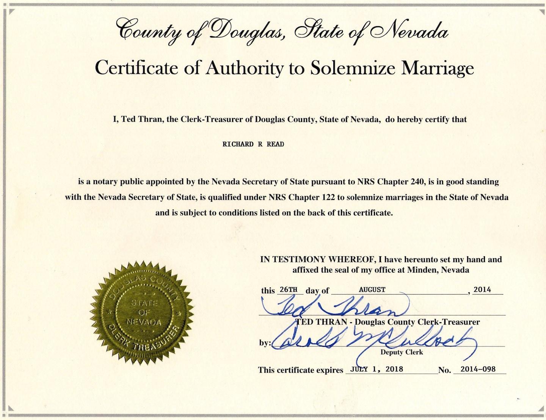 Tahoe Wedding Day