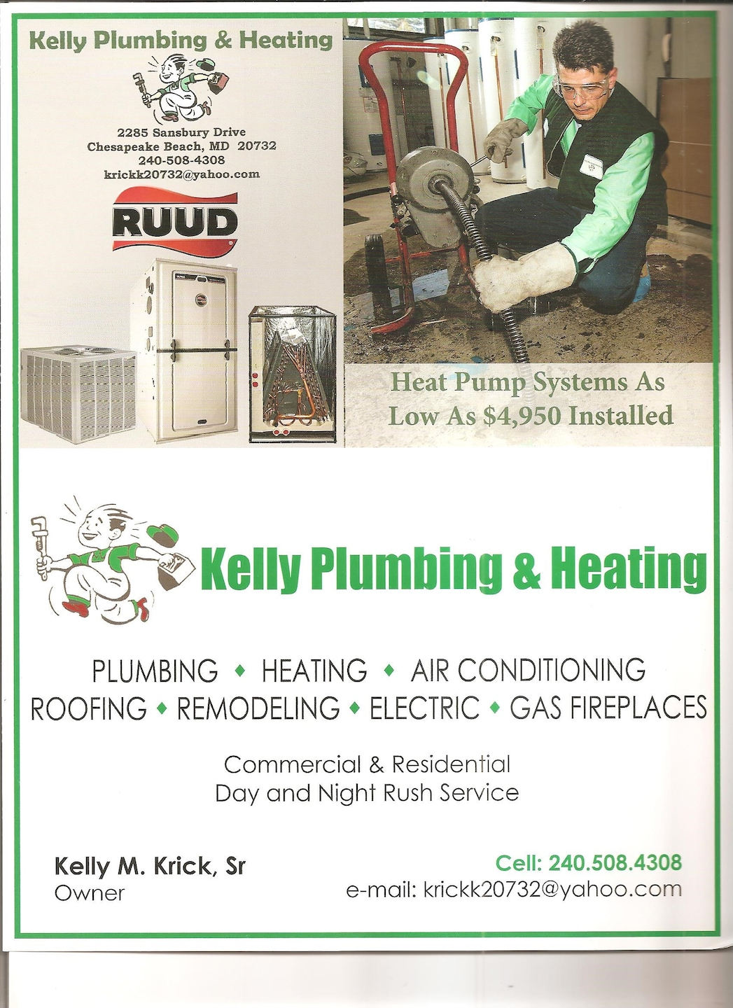 Kelly Plumbing & Heating