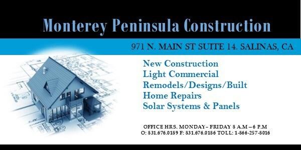 Monterey Peninsula Construction