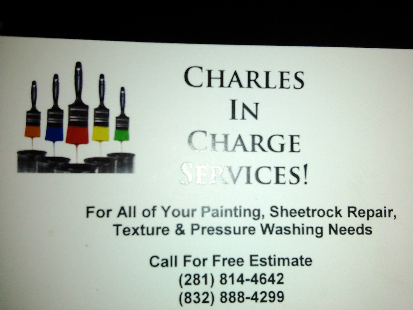 Charles in Charge Painting Services