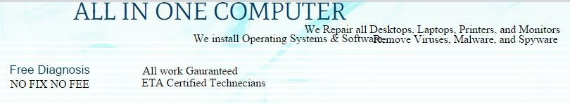 All In One Computer Repair Inc