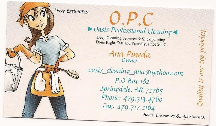 Oasis Professional Cleaning