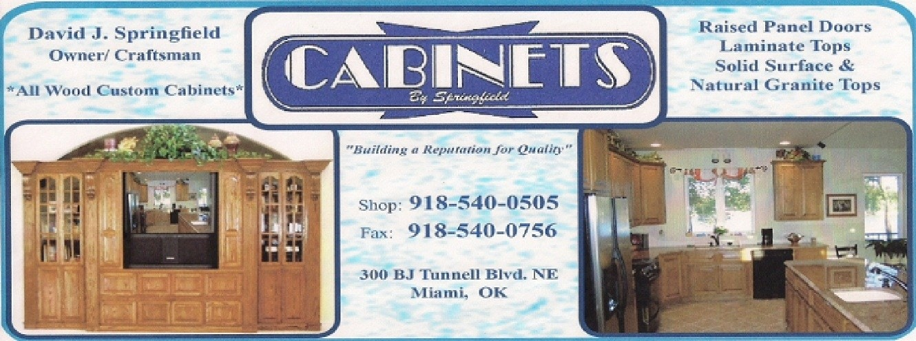 CABINETS BY SPRINGFIELD