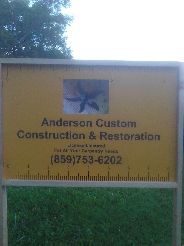 Anderson Custom Construction & Restoration