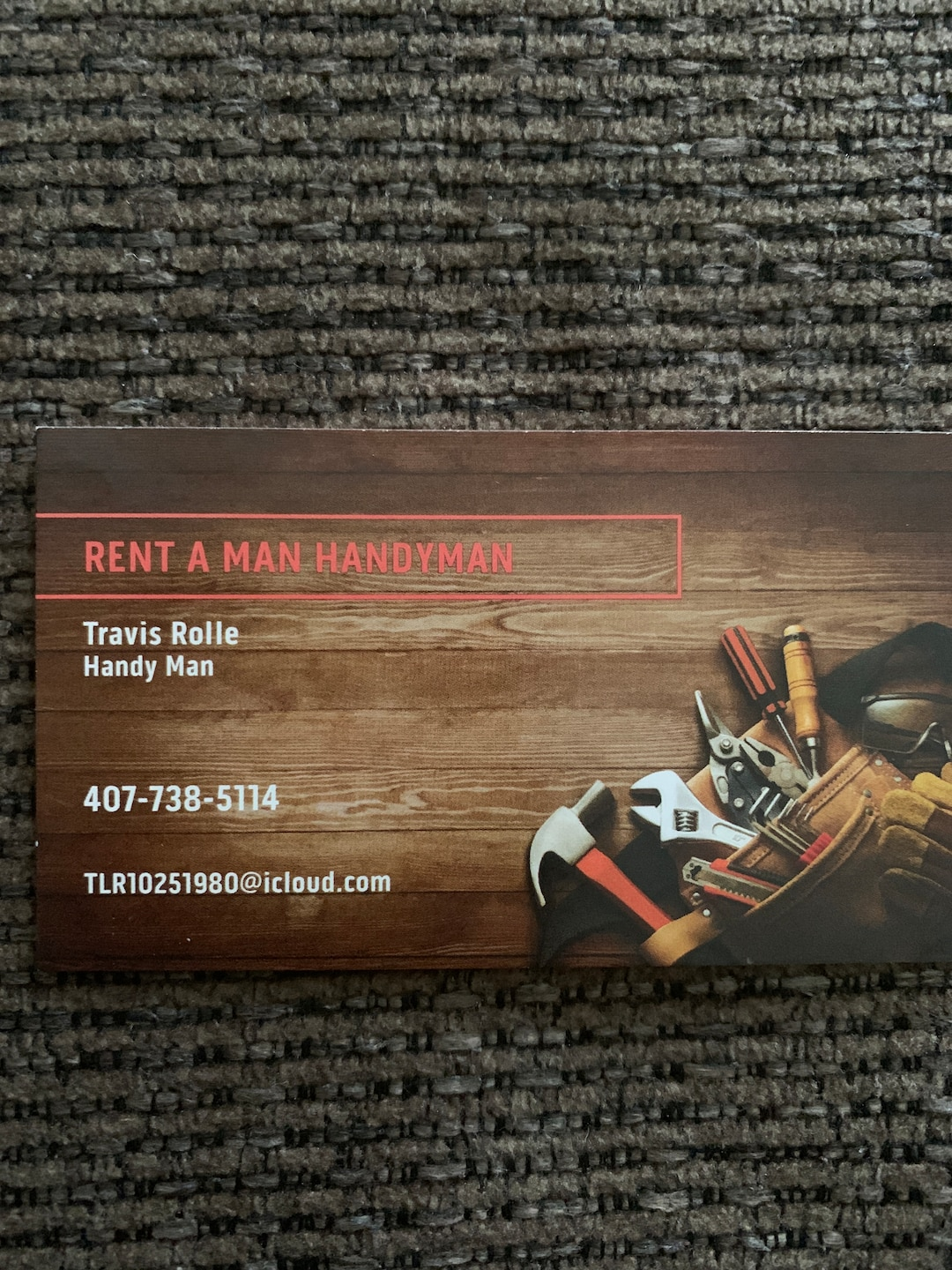 RENT A MAN HANDYMAN LLC