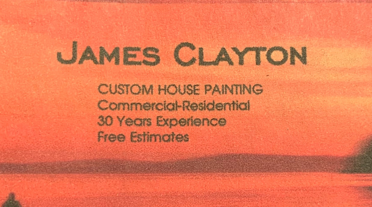 Claytons painting