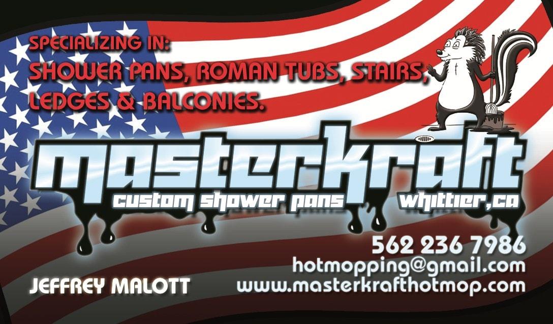 Masterkraft Custom Shower Pans Reviews Whittier Ca