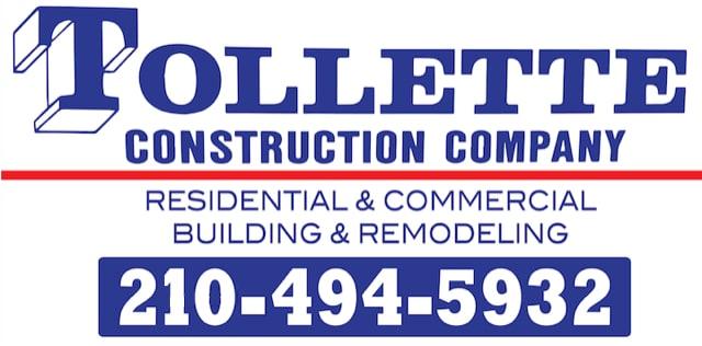 TOLLETTE CONSTRUCTION CO