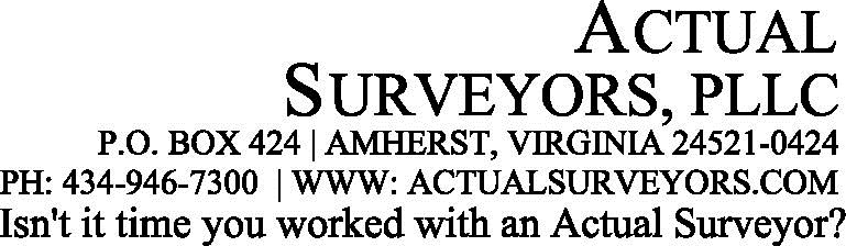 Actual Surveyors, PLLC