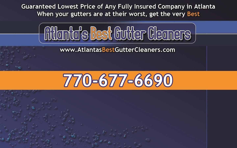 Atlanta's Best Gutter Cleaners