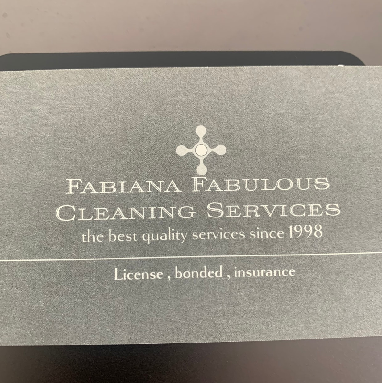 Fabiana Fabulous cleaning services