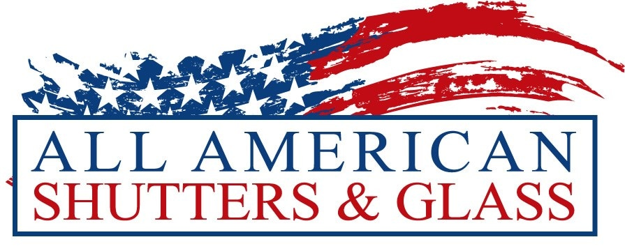 All American Shutters & Glass logo