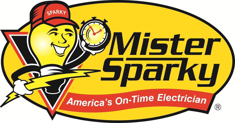 Myrtle Beach Electrician Mister Sparky logo