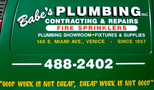 Babes Plumbing Inc logo