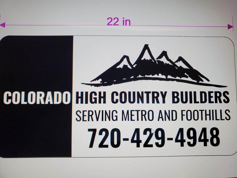Colorado High Country Builders llc