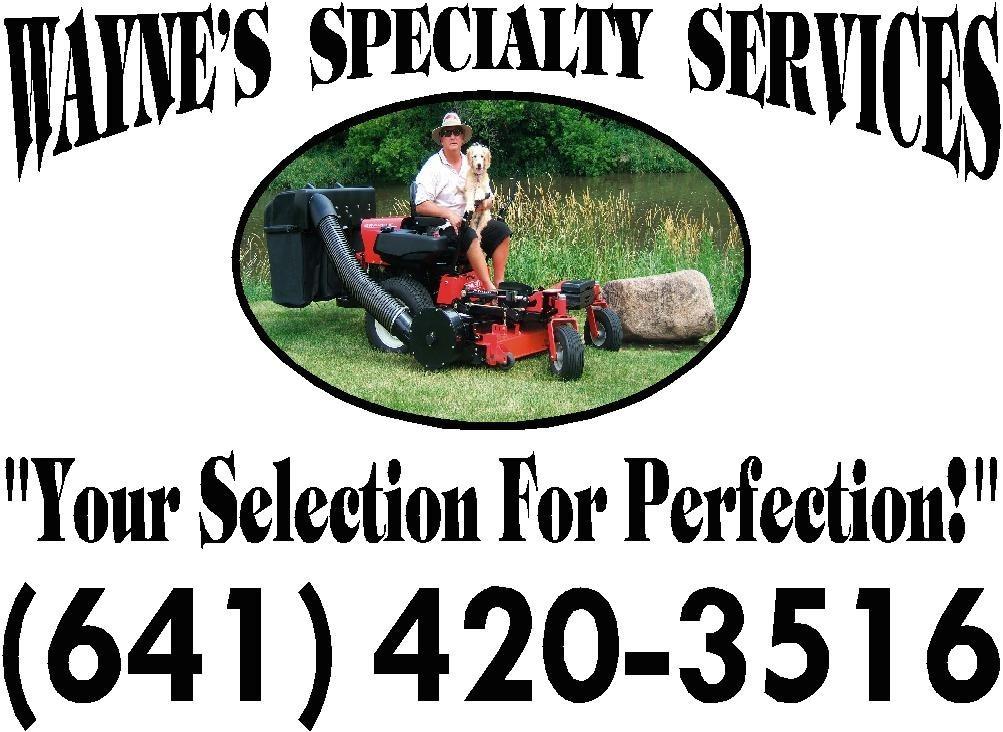 Wayne's Specialty Services