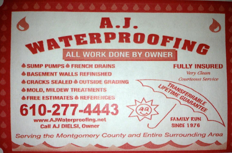 AJ Waterproofing