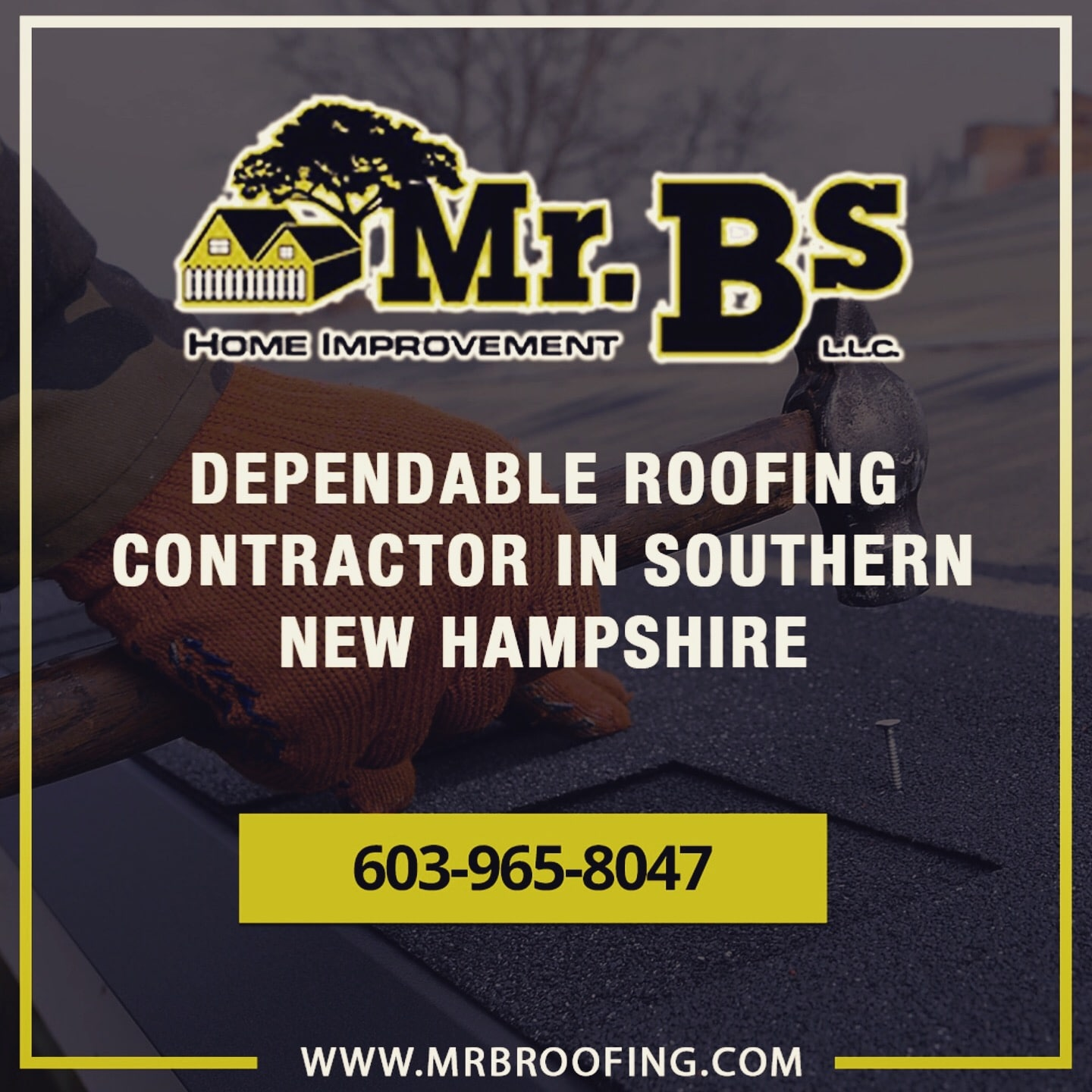 MR. Bs Roofing LLC logo