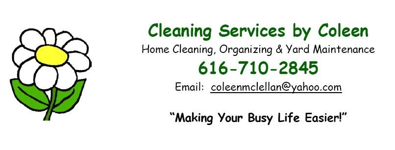 Organizing & Cleaning Services By Coleen