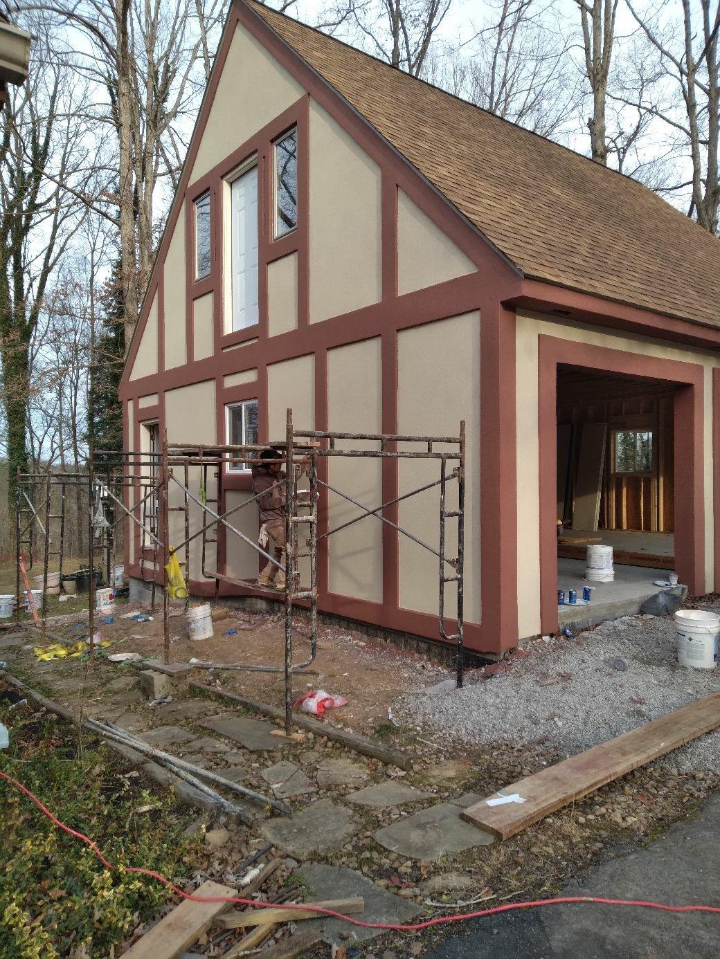 Handymen Project, stucco, stone,block works,