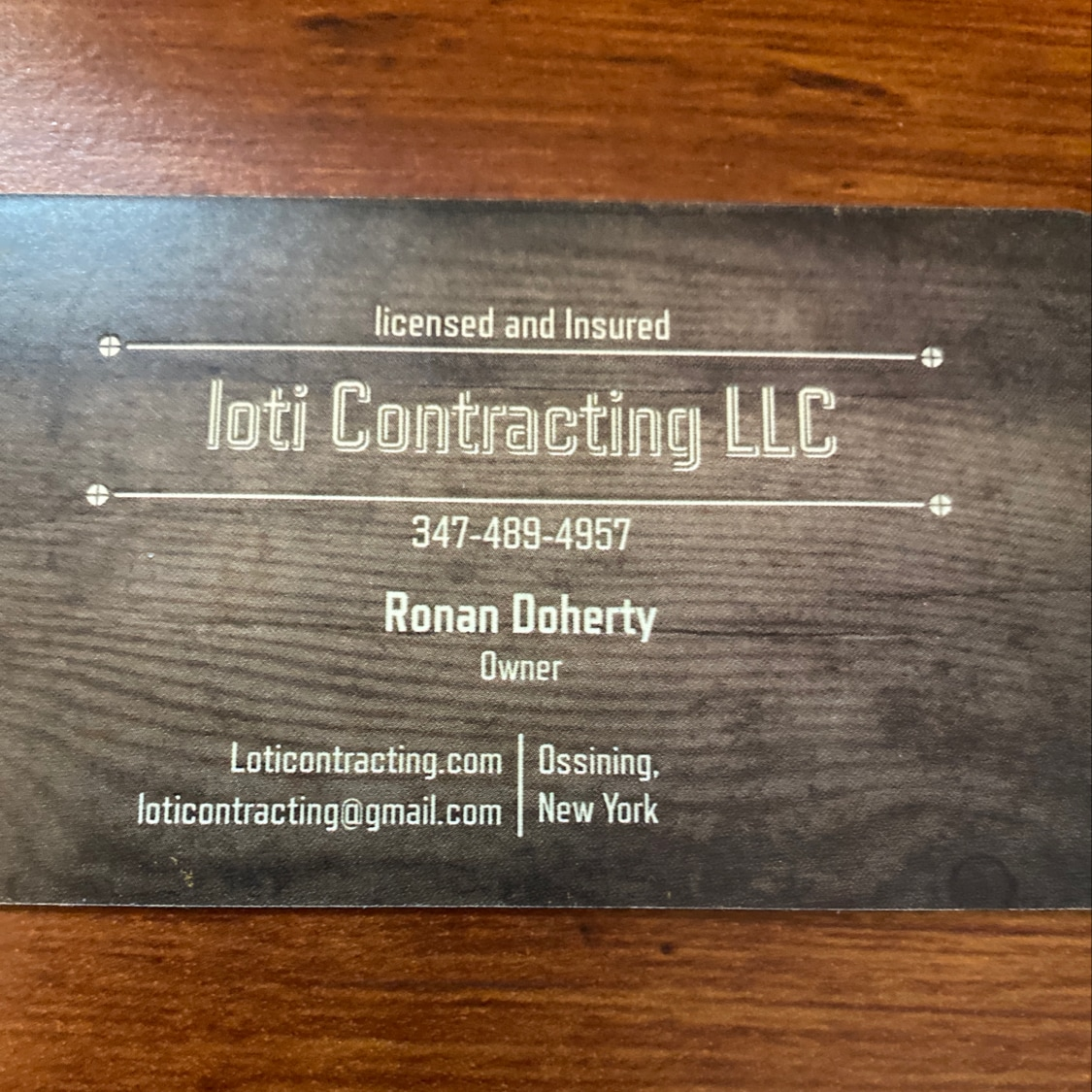 Loti Contracting