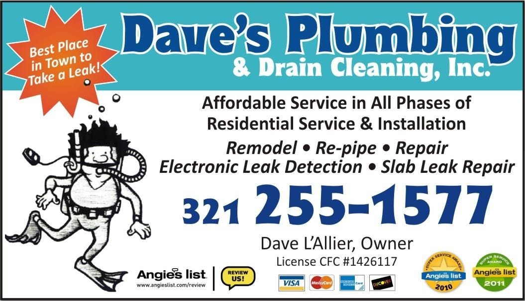 Dave's Plumbing & Drain Cleaning