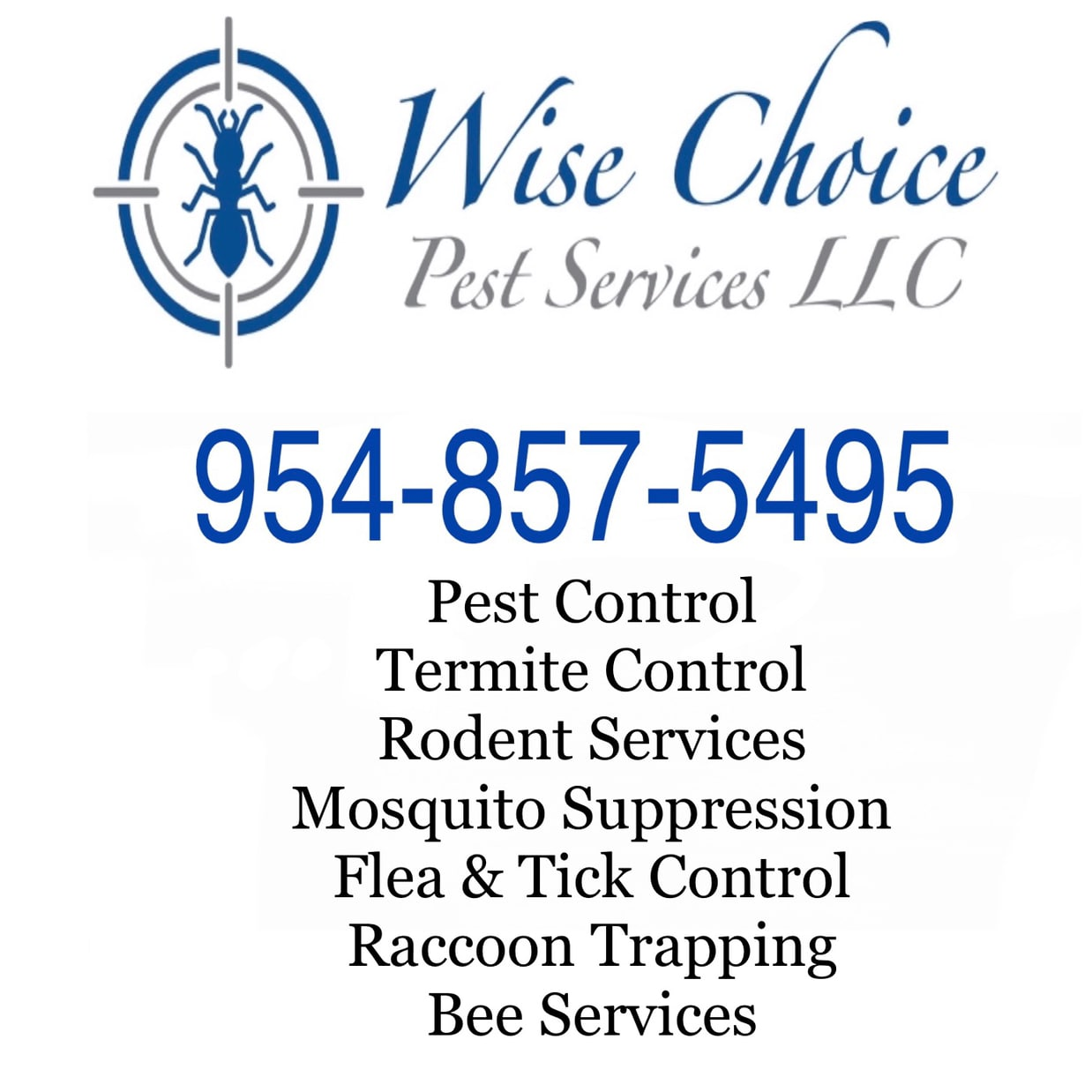 Wise Choice Pest Services LLC