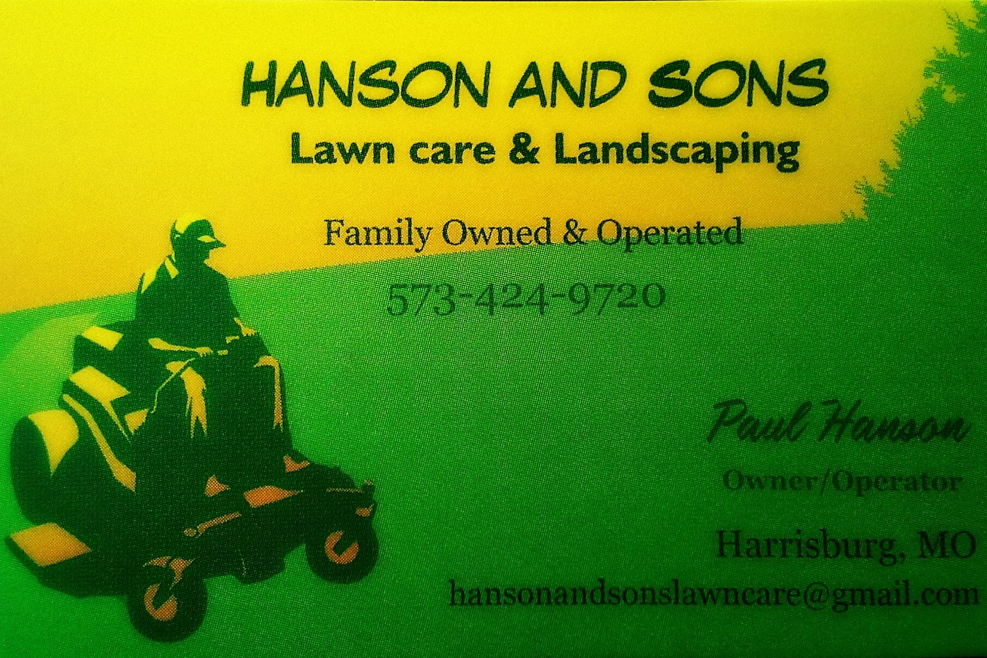 HANSON AND SONS Lawn Care & Landscaping