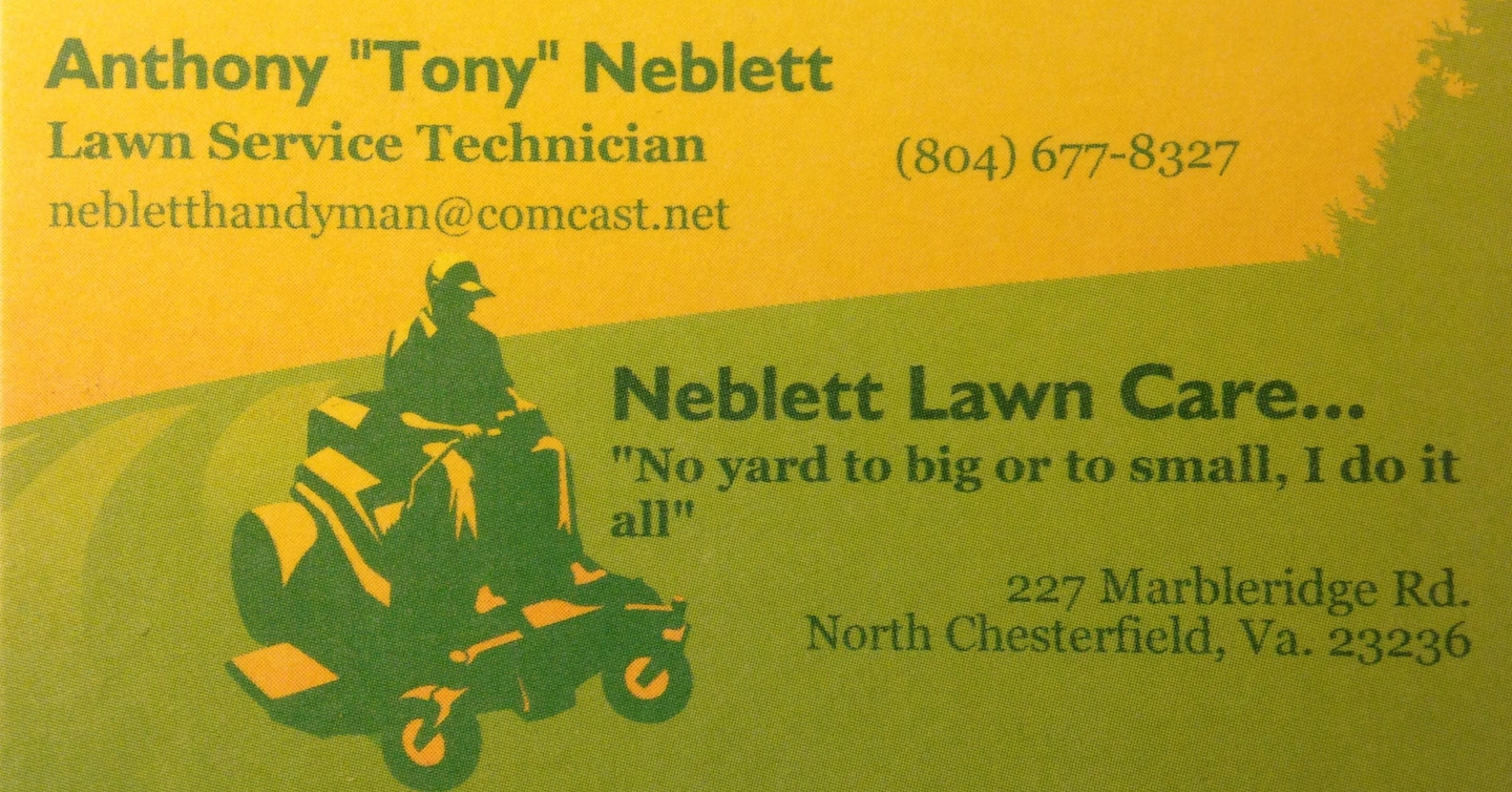 Neblett Lawn Care Services