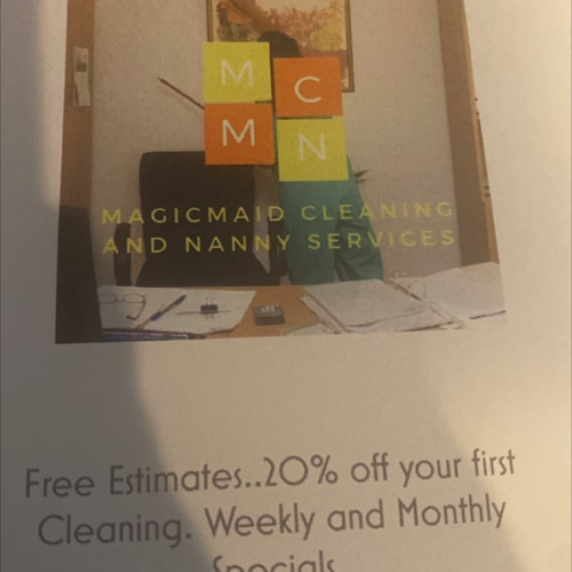 Magicmaid cleaningnanny services